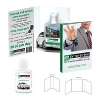 355927312-134 - Tek Booklet with Hand Sanitizer Gel - thumbnail