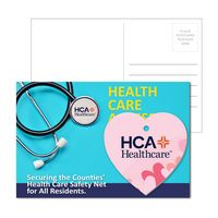 515956946-134 - Post Card With Full-Color Heart Luggage Tag - thumbnail