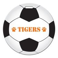 534047468-134 - Soccer Ball Shaped Luggage Tag - thumbnail