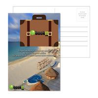 715956944-134 - Post Card With Full-Color Suitcase Luggage Tag - thumbnail