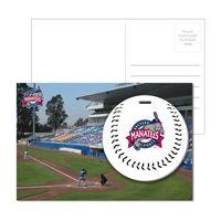 725956919-134 - Post Card With Full-Color Baseball Luggage Tag - thumbnail