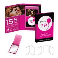 775929239-134 - Tek-Booklet Rectangle Compact Mirror - thumbnail