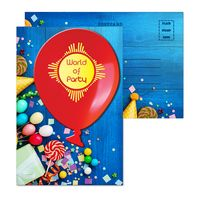 905956878-134 - Post Card with Full Color Balloon Coaster - thumbnail