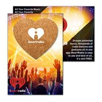 935956383-134 - Post Card with Heart Shaped Cork Coaster - thumbnail