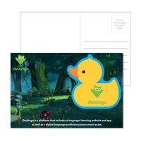 965956898-134 - Post Card with Full Color Rubber Duck Coaster - thumbnail