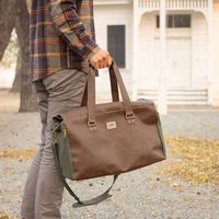 125929483-900 - Danville Duffel - Green Canvas - thumbnail