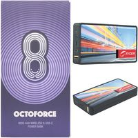 196156588-900 - Octoforce 2.0™ Qi 8000mAh Wireless Power Bank - thumbnail