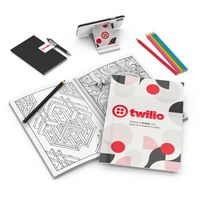 396379133-107 - Unwind Kit: Coloring kit, notepad, pen holder and phone stand - thumbnail
