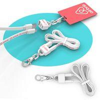905690968-107 - Lanyard : 2-in-1 Lanyard and Micro USB Charging Cable - thumbnail