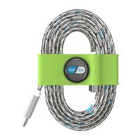 395715135-817 - Toddy Tie Organizer and Cable Kit - USB-C to USB (Green) - thumbnail