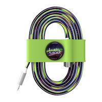945715085-817 - Toddy Tie Organizer and Cable Kit - Micro-USB to USB (Green) - thumbnail