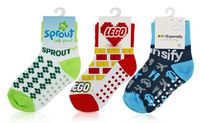 515709639-139 - Pantone Matched Jacquard Baby Socks - thumbnail