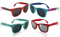 585416589-139 - Pantone Matched Folding Sunglasses - thumbnail